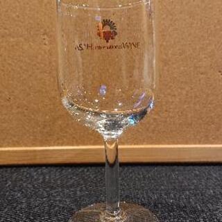 ワイングラス(ロゴ有り)×6個の画像