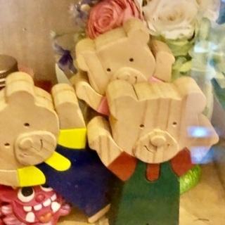 久々外出ヾ(≧▽≦)ノ 木のおもちゃ ハンドメイド
