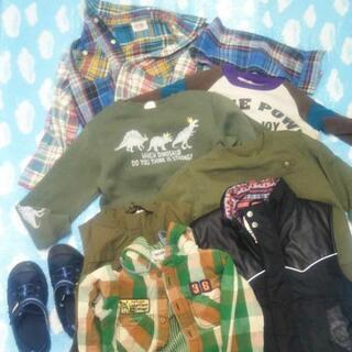 【ネット決済・配送可】130cm男児服〜50点まとめ売り2000円