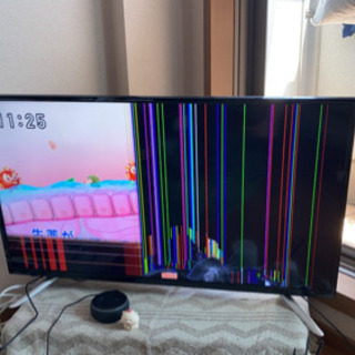 【ジャンク】SANSUI 39型液晶テレビ 録画用ハードディスク付