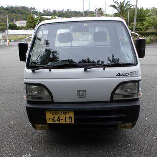 ホンダ アクティ軽トラ 車検令和5年6月まで有効 4WD  和歌...