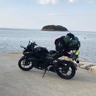 Suzuki GixxerSF 150 キャンプツーリング仕様
