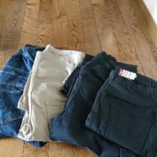 ※受け渡し決定【無料でお譲りします】無印良品 マタニティパンツ ズボン