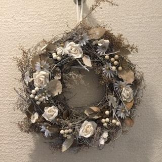 ✅美品💞今週限定値下💞年中飾るドアリース 天然素材