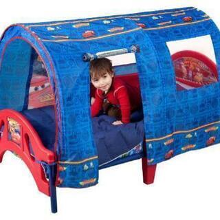 【最終値下げ】カーズ 幌付き ベッド 子供用 1〜6歳
