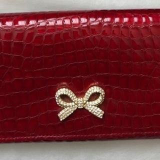 本革赤い財布2,000円