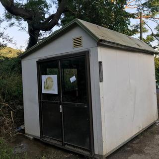 【ネット決済・配送可】ハウス 小屋 スーパー プレハブ
