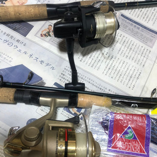 釣り道具まとめ中古 − 岐阜県