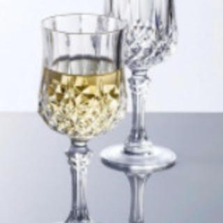 【新品未使用】ワイングラス 【クリスタルグラス/4脚】