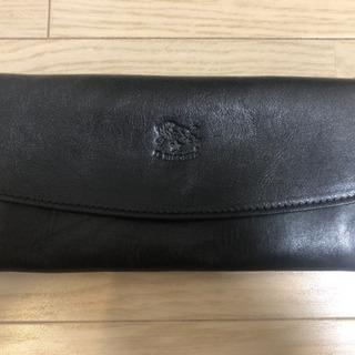 【ネット決済・配送可】イルビゾンテ 長財布 ブラック