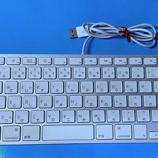 Apple USB有線キーボード 純正アップルキーボード 極薄 ...
