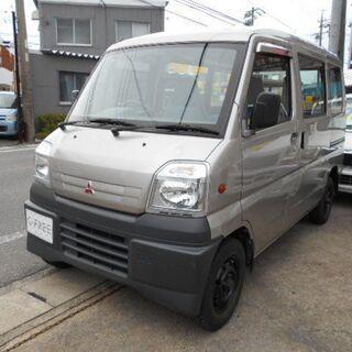 平成11年式 三菱 ミニキャブバン CD ハイルーフ 4WD 5...