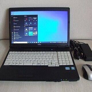 高速SSD120GB搭載 第二世代 Core i5 Fujits...