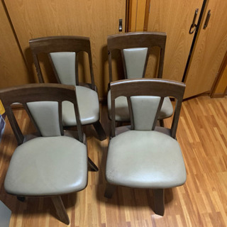 回転椅子 4脚