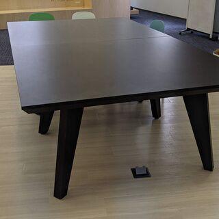 【ネット決済】卓球台 オフィス ブラック テーブル