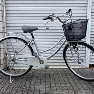 【ネット決済・配送可】【中古自転車】26インチ内装3段変速付 リ...