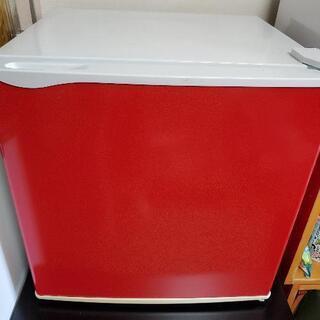 【取引中】小型冷凍冷蔵庫 1ドア レッド