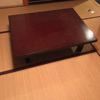和室用の大きなちゃぶ台