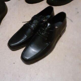 綺麗‼️ビジネス革靴25センチ 黒