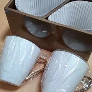 新品 ノリタケ ペアマグカップ