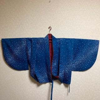 6MKO430  和服 着物 上下セット  蝶袖羽織 カーディガン
