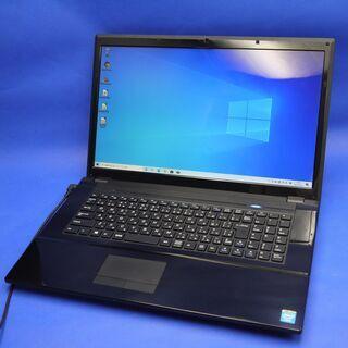 新品SSD搭載 大画面17インチ ノートパソコン