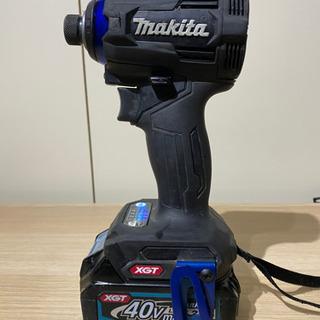 マキタ TD001 40V 4モード インパクトドライバ セット 黒 − 愛知県