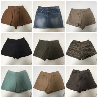 美品⭐︎9枚セットMサイズ ショートパンツ デニムスカート