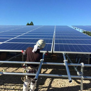 太陽光設置のお仕事
