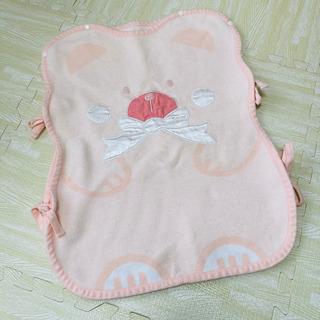 綿100% ピンク スリーパー 綿毛布