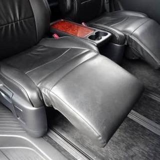 後部座席が快適すぎる件