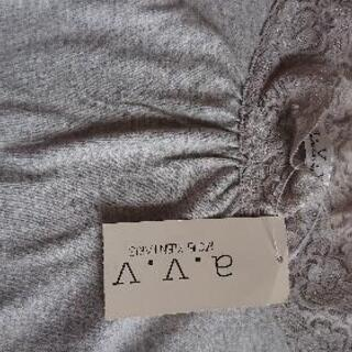 a.v.v★レース付きTシャツ L