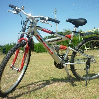 値下げ◆超美品◆26インチ マウンテンバイク ◆パナソニック  ...