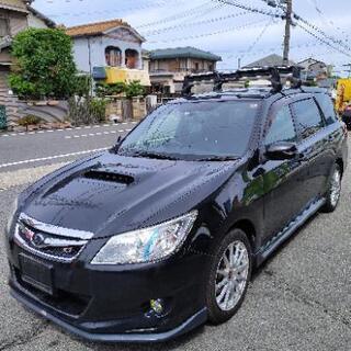 スバル エクシーガ ターボ STI仕様 7人乗り AWD