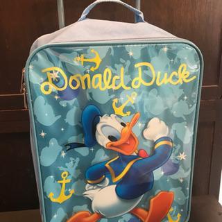 Disney ディズニー ドナルドダック キャリーバッグ コロコ...
