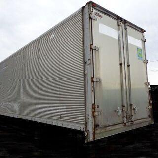 トラックコンテナ 箱 4t 7300x2470x2950 アルミ...