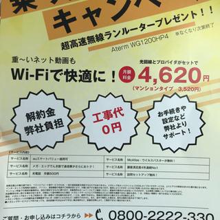 Wi-Fiどうですか?