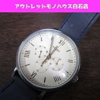 TIMEX クォーツ腕時計 クロノグラフ WR30 SR920S...