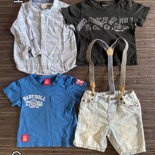 【ネット決済】ブランド服 サイズ80