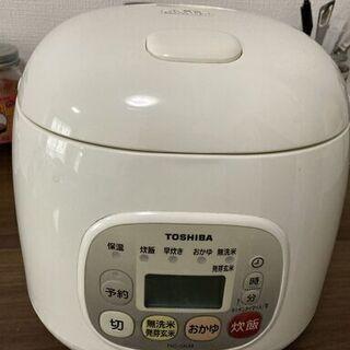 ②東芝の炊飯器