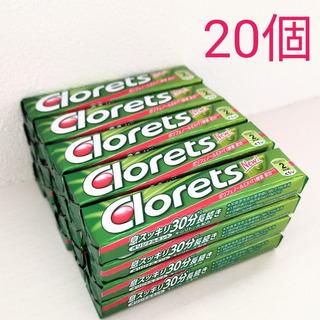 クロレッツ 粒ガム スティックタイプ オリジナルミント 20個