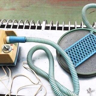 中古、家庭用超音波気泡浴装置ですが、池などの酸素補給に