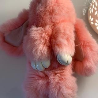 ピンクのウサギちゃんアクセサリー