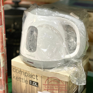 【新品未使用品】コンパクトサイズ 電気ケトル