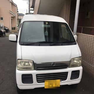 スズキ エブリィバン DA62V 4ナンバー ターボ FR 軽バ...