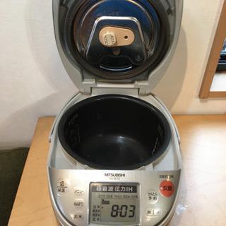 超音波圧力IH炊飯器 MITSUBISHI NJ-SE10 - 久留米市