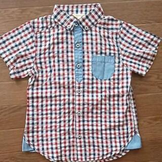 ギンガムチェックシャツ 120サイズ