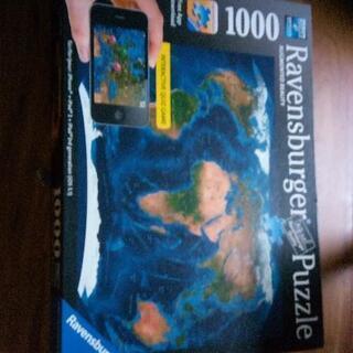 ★値下げ ジグソーパズル 外国もの 世界地図