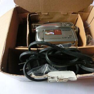 ムービー一式(保存、SDカード、DVD,)日立⭐電池は付きますが...
