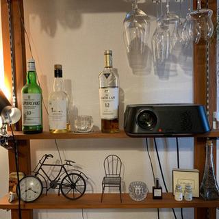 手作りDIY飾り棚・ワイングラスホルダー